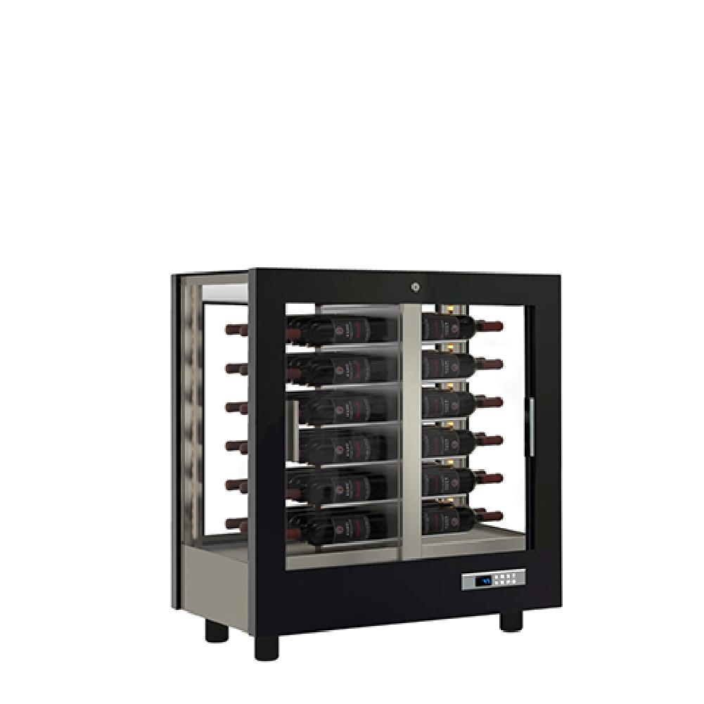 vitrine vin réfrigérée – expo